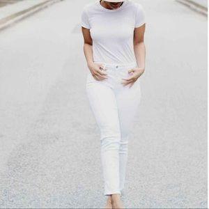 NWT NYDJ Curves 360 Slim Straight Leg Ankle Jean